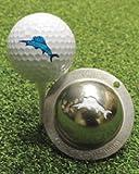 Tin Cup Golf Ball Custom Marker Alignment Tool