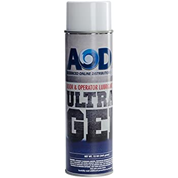 Garage Door & Operator Lubricant- Manufactured Exclusively for AOD Retail, LLC- Teflon Based