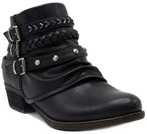 Ladies Black Stud - 2
