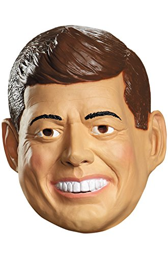 Jfk Halloween Costumes - Disguise Costumes Kennedy Deluxe Mask,