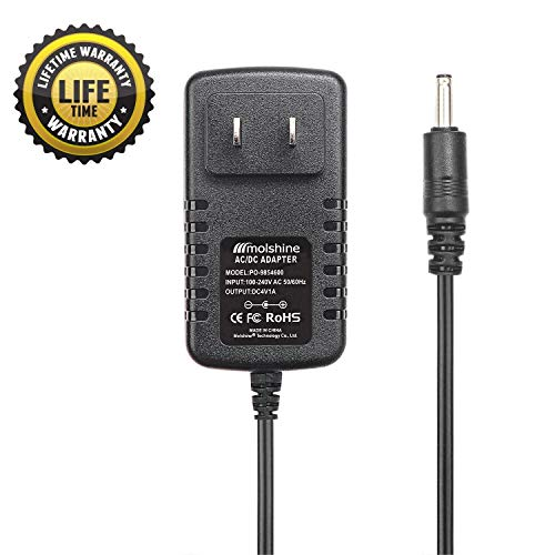 Molshine Compatible (6.6ft Cable)4V AC DC Adapter for Wahl Groomer Clipper Shaver Trimmer Charger 9854600 9854-600 9867300 9867-300 97581405 97581-405 79600-2101 97581-1105 9854l 9864 9876l 9818 9818L (Wahl Clippers Charger 9818)