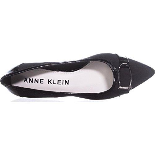 Anne Klein Des Femmes De Marylyn Pompe Ponyhair Tissu Noir