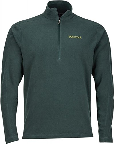 Marmot Men's Rocklin 1/2 Zip Dark Spruce - Marmot Fleece Mens