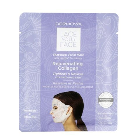 Lace Face Mask (LACE YOUR FACE Compression Facial Mask - Rejuvenating Collagen - Single)