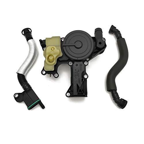 Ensun PCV Valve Oil Separator Crankcase Vent Valve for Audi A4 A5 A6 Quattro Allroad Q3 Q5 Replace# 06H103495AE
