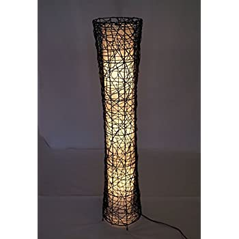 Amazon.com: Aspire Liam Abstract Floor Lamp, Brown: Home & Kitchen