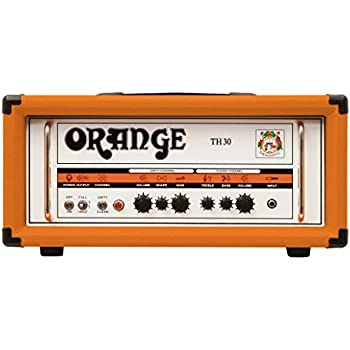 Orange TH30 30W All Analogue Twin Channel Amplifier Head, Orange
