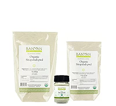 Banyan Botanicals Sitopaladi Powder - Certified Organic - Supports the proper function of the respiratory system and promotes well-being*