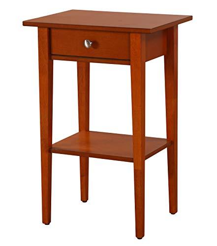 Glory Furniture Dalton G038-N, Oak Nightstand, Side Table 28