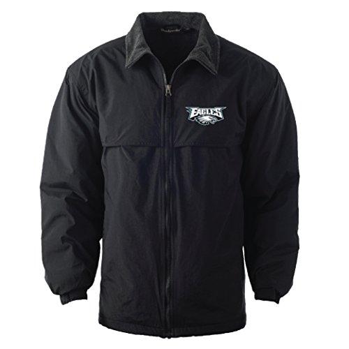 Philadelphia Eagles Mens Jackets - Dunbrooke Apparel NFL Philadelphia Eagles Triumph Fleece Lined Mid Weight Jacket, Large, Forest