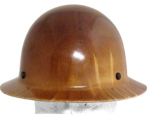 MSA Skullgard Skullgard Full Brim Natural Tan Hard Hat with Old Style Fas-Trac II Suspensions by MSA (Image #1)