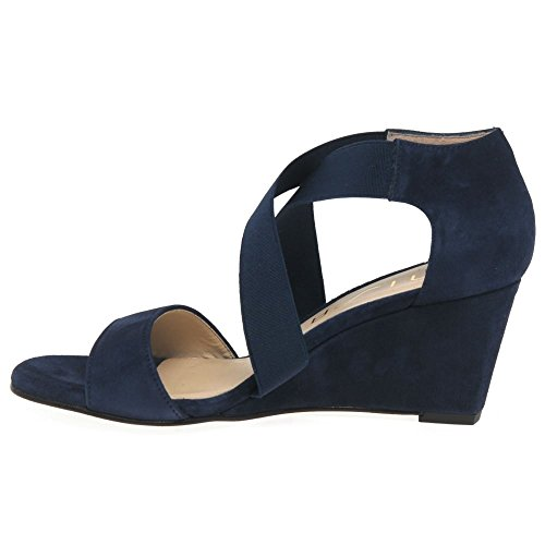 Unisa Diana Womens Casual Sandals Navy Suede qnjUoi