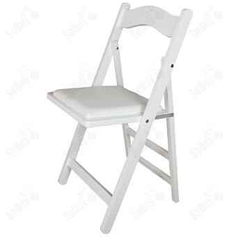 SoBuy® Sillla plegable, silla, sillla de madera, silla de cocina ...