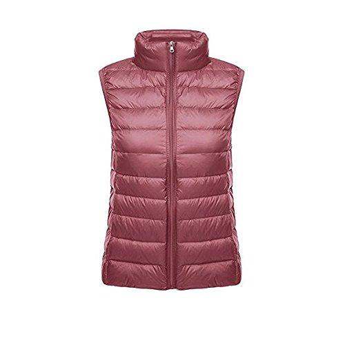 Chaleco Pink Ultra Down Mujer Pluma Windproof light Ake Chaquetas Puffer Coat De P1StaxZw