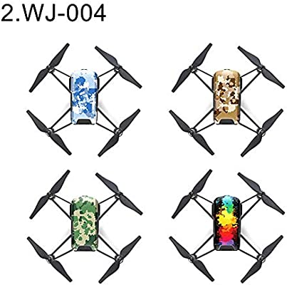 wiFndTu - 4 pegatinas protectoras impermeables para dron DJI Tello ...