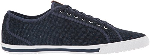 Ben Sherman Mens Chandler Lo Fashion Sneaker Blazer Blu Scuro