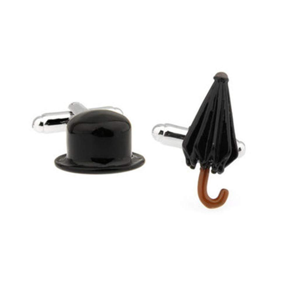 YYXXX Gemelos,Hombres Sombrero Negro Combinación Suelta Moda ...