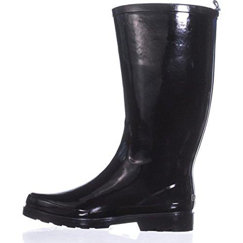 High Finsburt Nautica Boots Black Rain Knee fxEB16