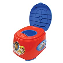 Nickelodeon Paw Patrol 3-In-1 Potty Trainer, Red/Blue