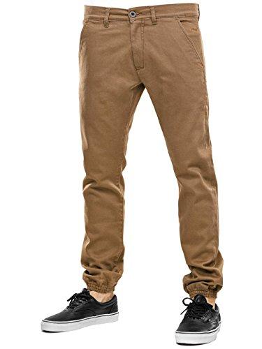 Jeans Ginnico Marrón Pantalone Reell Pantaloni Jogger Uomo z6qxvwC