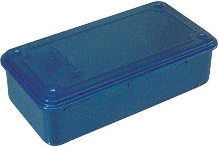 TRUSCO trunk type tool box T-190 Mat Black 203X109X56mm
