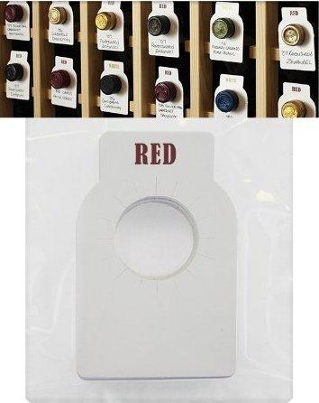 Wine cellar bottle tags (50)