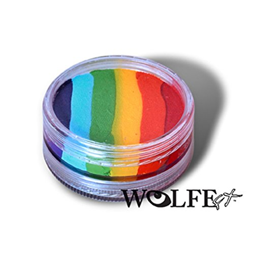 Wolfe Face Paints Rainbow 1 59 product image