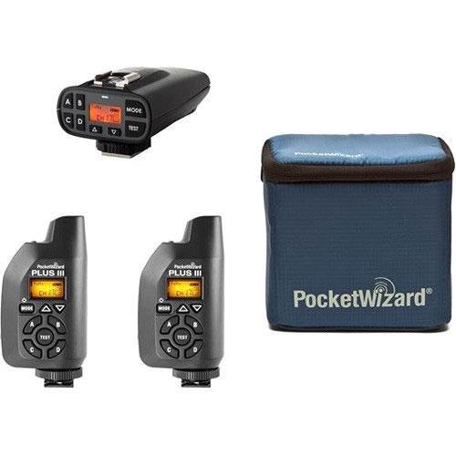 PocketWizard Plus IV//III Bonus Bundle 4 3 Transceivers and G-Wiz Squared Bag