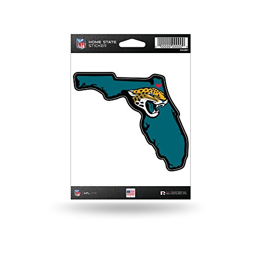 Rico Industries NFL Jacksonville Jaguars Home State Sticker