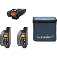 PocketWizard Plus IV/III Bonus Bundle 4: 3 Transceivers and G-Wiz Squared Bag