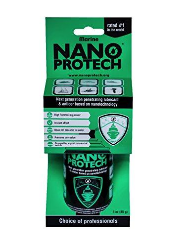 (NANOPROTECH Multi-use Anti-Corrosion Protective Invisible Coating Marine Anticor Lubricant Spray, 3 oz)