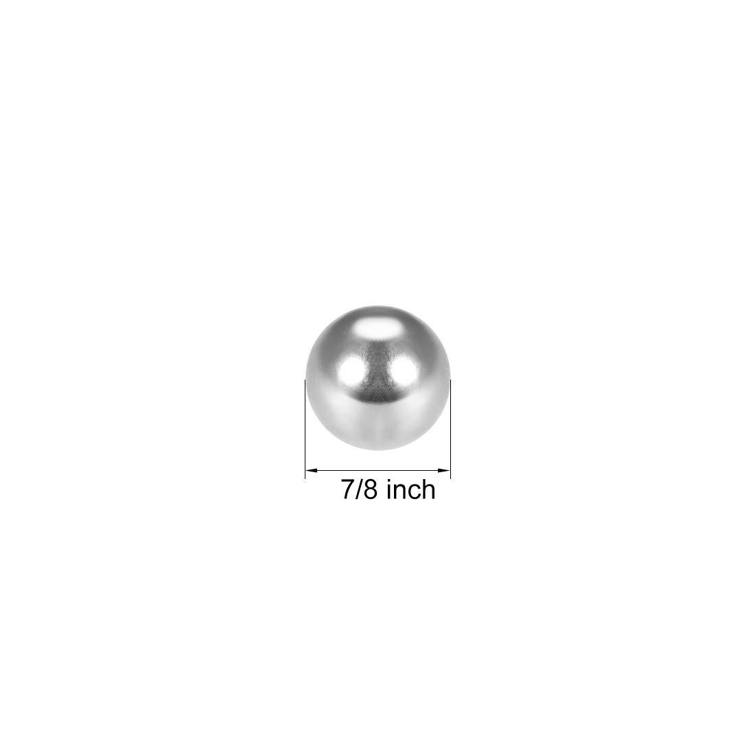 sourcing map 7//8 Inch Precision Chrome Steel Bearing Balls G25 10pcs