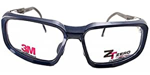 3M ZT100 Prescription Ready Safety Goggles- Lens Size 62 ...