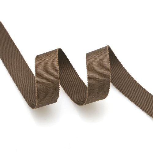 - Grosgrain Ribbon 5/8-Inch COFFEE by 50 Yards