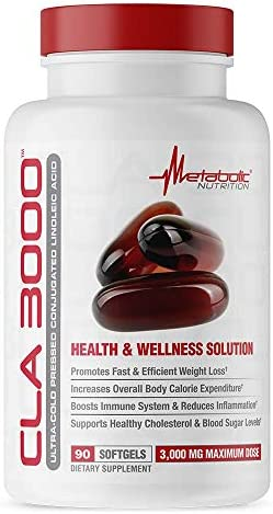 Metabolic Nutrition CLA 3000 90 Count