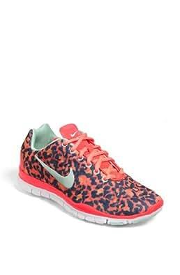 Nike Wmns Free TR Fit 3 PRT Leopard - Atomic Red (555159-603)