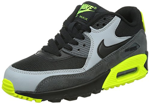 Noir Gar Running gs Grey Chaussures Max On drk 90 De black black Nike Grey Air Mesh wolf 8v0gwvpx