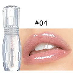 Feature: 100% New and high quality Name: Colorful color Lip gloss Moisturizing, lasting not fade, waterproof, sweat-proof, color full, different time color display is not the same. Suitable for party, banquet or daily life Lightweight, easy t...