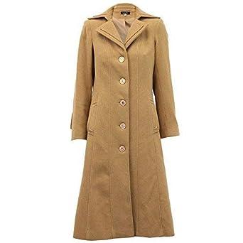 quality design 3d268 8e91a Cappotto Donna Lana Cashmere Trench Sopra-cappotto foderato ...