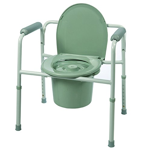Roscoe Medical Three-In-One Commode-Round Seat