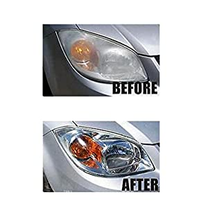 Baoblaze Car Headlight Bulbs Lens Clean Polishing Restoration Set High Performance