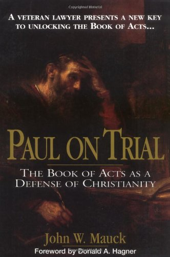 Paul Trial Book Defense Christianity product image
