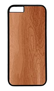 iPhone 6 Case,VUTTOO iPhone 6 Cover With Photo: Woodgrain For Apple iPhone 6 4.7Inch - PC Black Hard Case