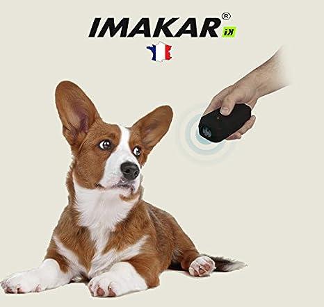 Imakar Mando a distancia con ultrasonido para adiestramiento de perros y gatos (sin collar)Perfecto para ...