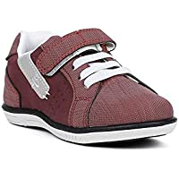 Sapato Infantil para Bebê Menino - Vermelho/cinza