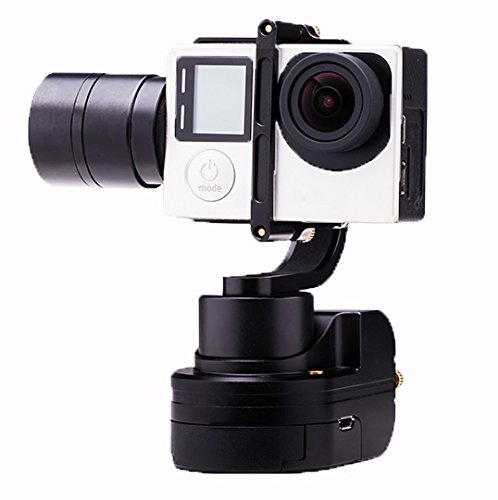 KumbaCam 3-Axis Mounted Stabilizer/Gimbal Compatible with a GoPro Product