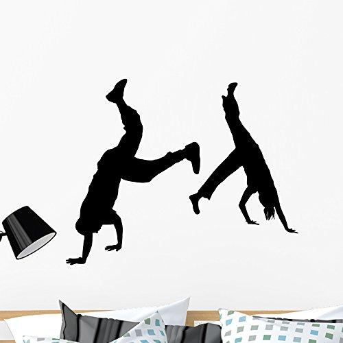 Wallmonkeys FOT-9050222-36 WM70200 Street Dancer Fight 2 Peel and Stick Wall Decals (36 in W x 26 in H), Large