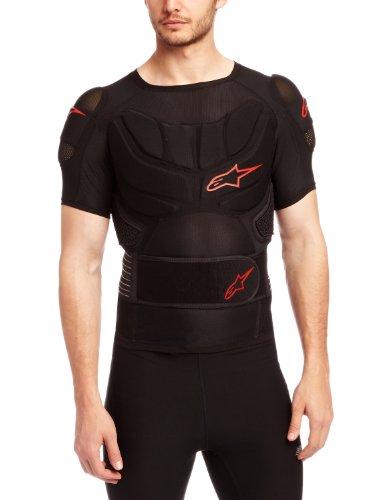 Alpinestars Comp Pro Short Sleeve Top for BNS, Medium, Black/Red