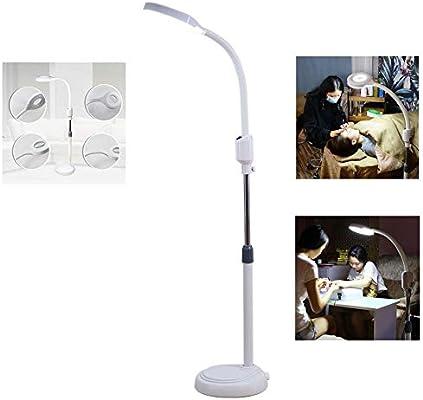TENT-Z Lámpara Lupa LED Estética De Aumento 8X Luz Blanca ...