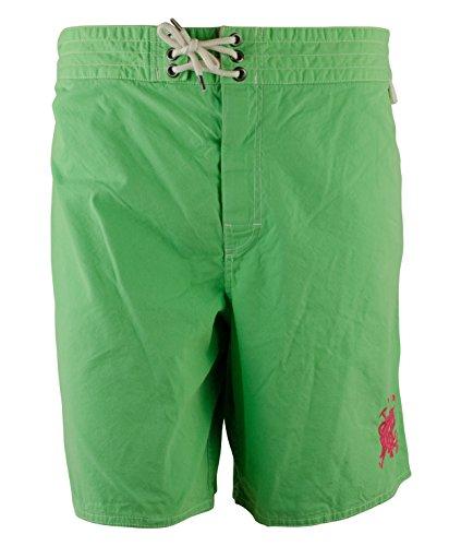 Ralph Lauren Sanibel Mallets Swim Trunks, Green (XL)